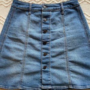 Target Denim Skirt